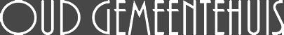 Brasserie Oud Gemeentehuis Logo