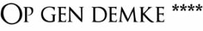 Op Gen Demke Logo